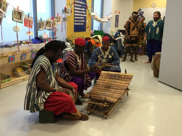 The Saakumu Dance and Drum Troupe