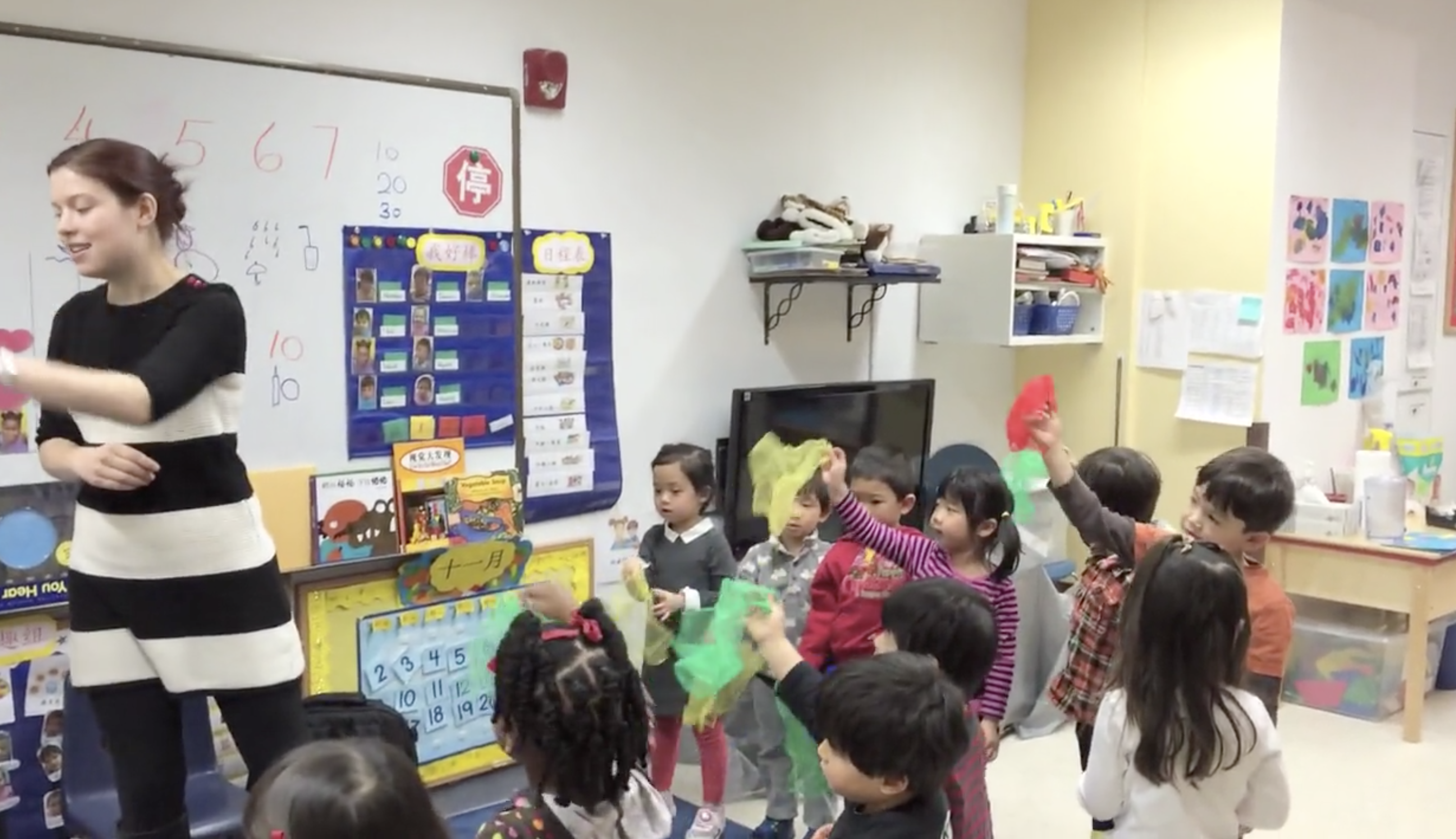 Peek Inside a Preschool Music Class (English)